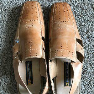 Stacy Adams Men's Tan Sandals.
